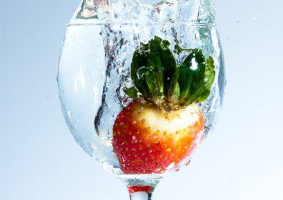 Liquid, Glass, Fluid, Tableware, Produce, Drinkware, World, Fruit, Ingredient, Cocktail garnish,