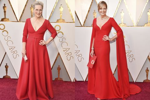 Red carpet, Carpet, Clothing, Dress, Gown, Red, Flooring, Formal wear, Fashion, Shoulder,