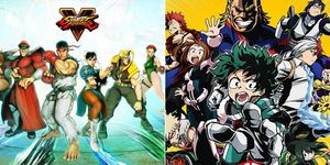 Street Figther y My Hero Academia