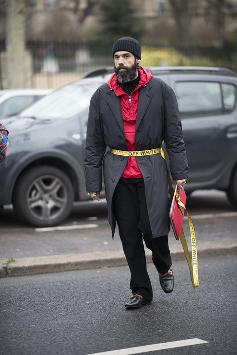 Street Style hombre paris 2018