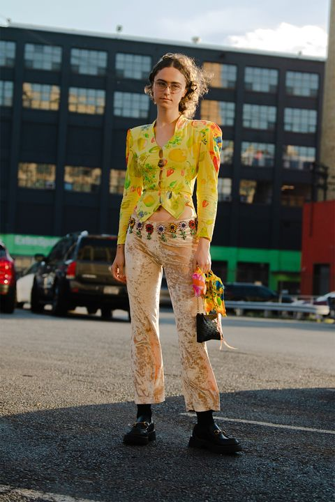 ella emhoff shows us how it's done at nyfw