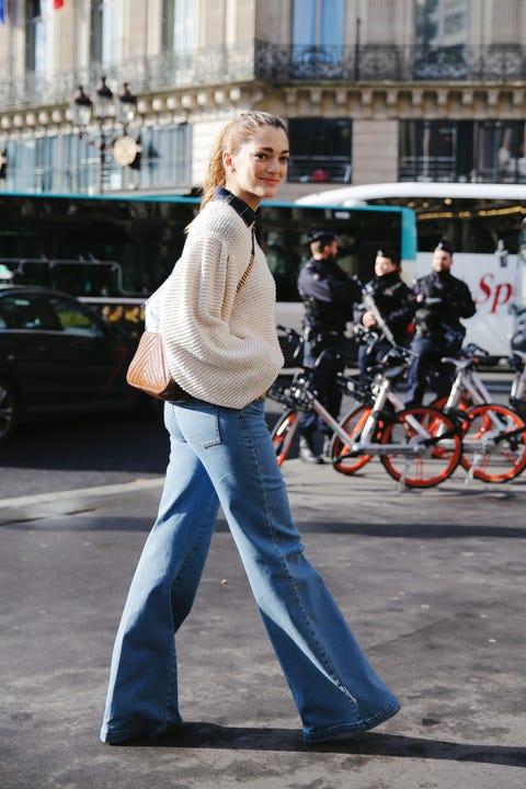 Street fashion, Photograph, Jeans, People, Fashion, Denim, Snapshot, Street, Standing, Outerwear,
