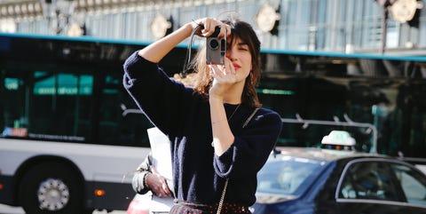 Street fashion, Photograph, Fashion, Snapshot, Street, Footwear, Dress, Infrastructure, Photography, Leg,