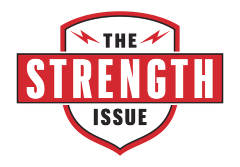 the strength issue badge