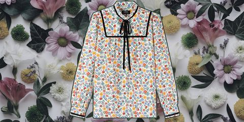 Clothing, Collar, Sleeve, Outerwear, Pattern, Pattern, Blouse, Embroidery, Textile, Top,
