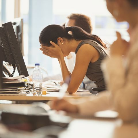 Your On-the-Job Burnout Could Be Wrecking Your Healthy Lifestyle