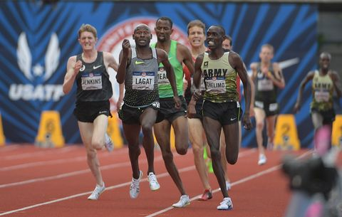 Lagat down the stretch