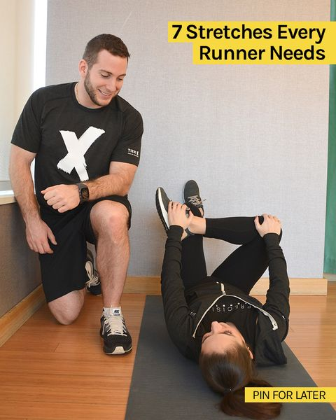 7 Stretches For Runners With Seriously Tight Muscles