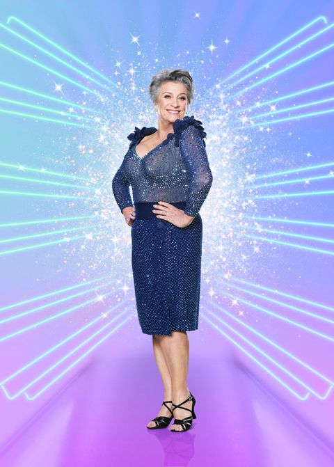 strictly come dancing, caroline quentin
