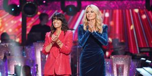 Strictly Come Dancing launch show, Claudia Winkleman, Tess Daly