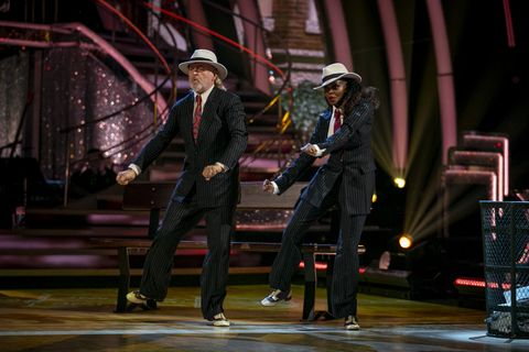 strictly come dancing 2020   bill bailey and oti mabuse dancing a couples' choice