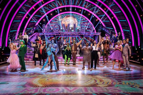 strictly come dancing movies week 2021