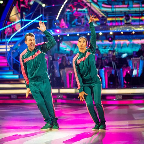 Strictly Come Dancing Chris Ramsey and Karen Hauer, 2 November 2019
