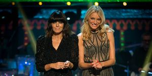 Strictly Come Dancing results October 28, 2018 - Claudia Winkleman, Tess Daly