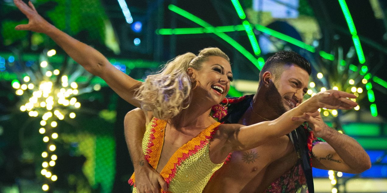 Strictly Come Dancing semi-final: Faye Tozer and Giovanni Pernice