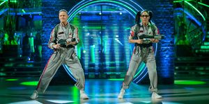Strictly Come Dancing, Halloween 2019, Alex Scott, Kevin Clifton
