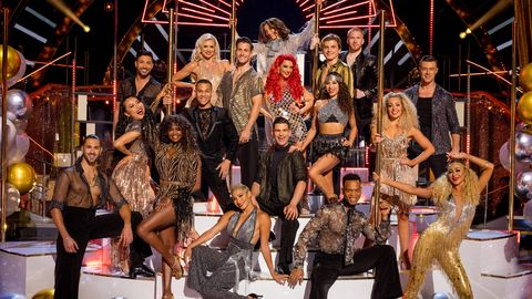 strictly come dancing professional dancers 2021