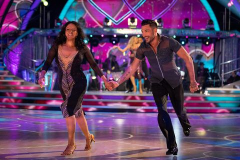 strictly come dancing 2020   ranvir singh and giovanni pernice dancing together