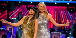 Strictly Come Dancing week 2 - Claudia Winkleman and Tess Daly