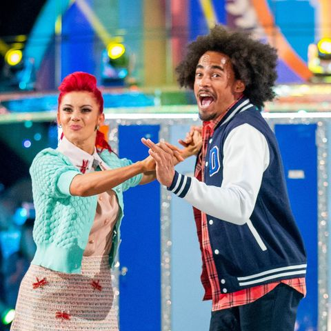 Strictly Come Dancing week 2 - Dev Griffin and Dianne Buswell