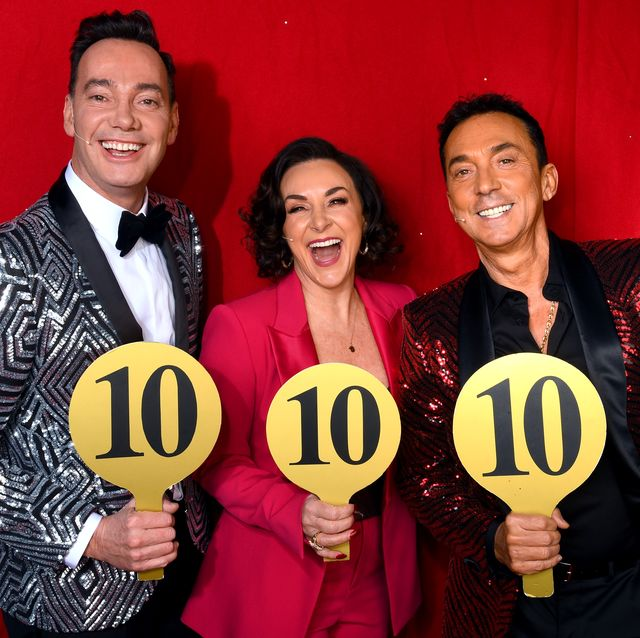craig revel horwood, shirley ballas and bruno tonioli at the strictly come dancing arena tour 2020 dress rehearsal