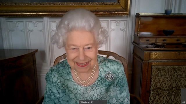 queen elizabeth attends a virtual science showcase for british science week