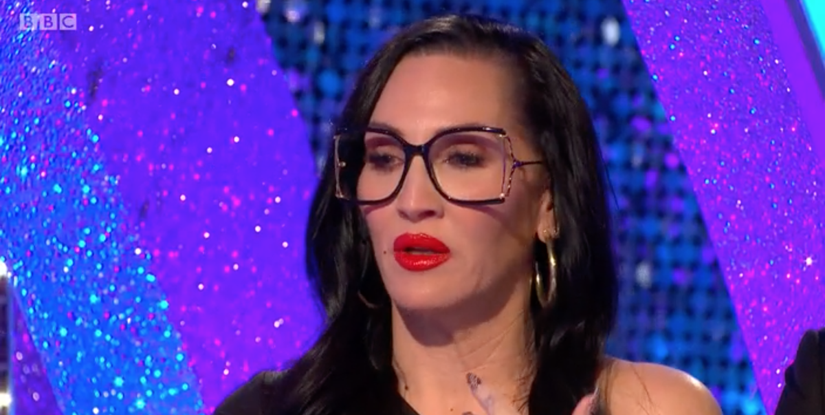 Strictly's Michelle Visage breaks down in tears over exit dance - digitalspy.com