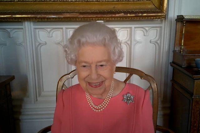queen elizabeth zoom covid 19 vaccine talk