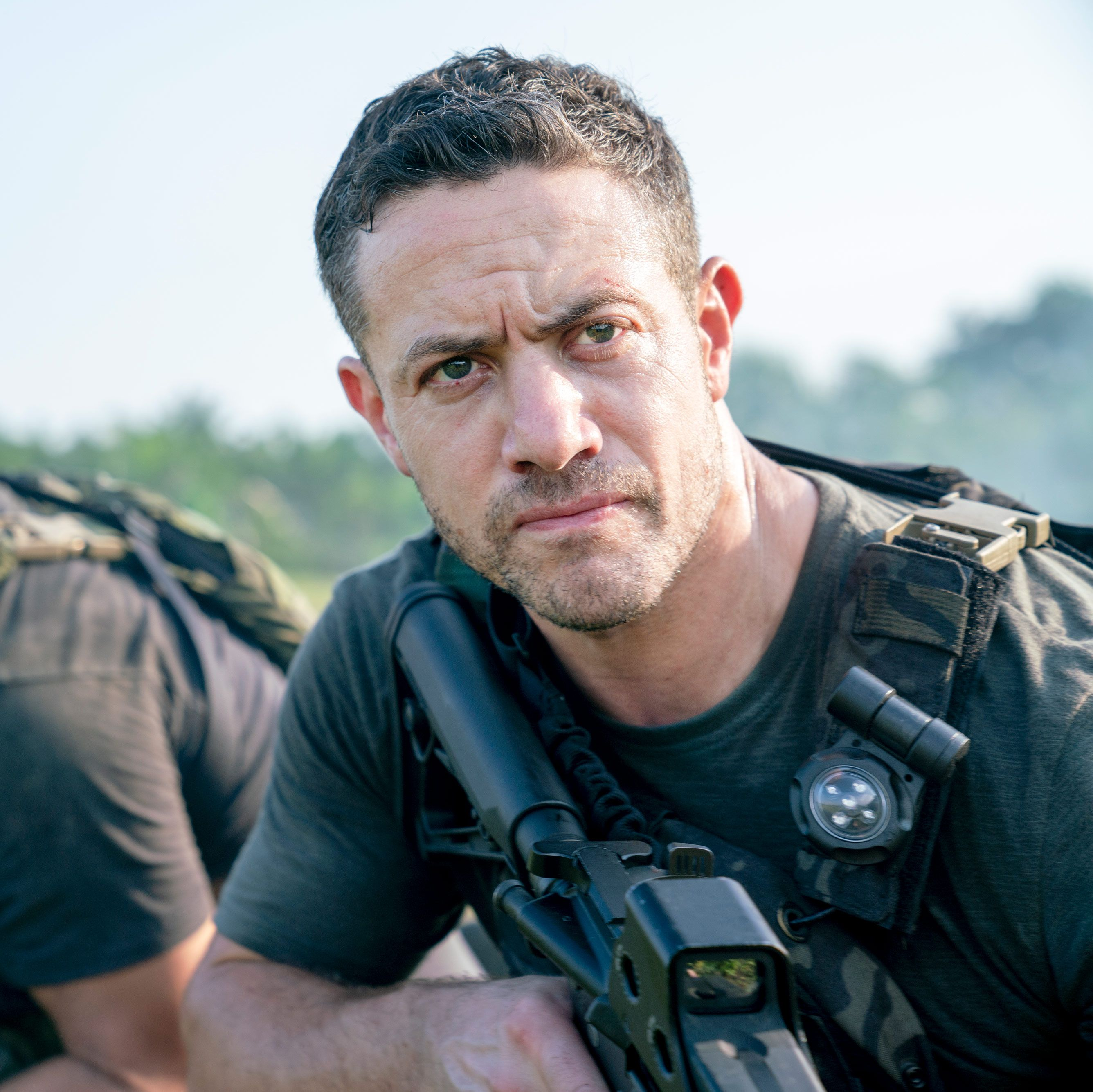 """Warren Brown says Strike Back is """"hardest job"""" he's ever done and hints at HUGE one-shot action scene"""