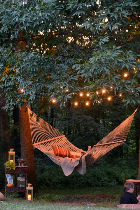 20 backyard lighting ideas how to hang outdoor string lights outdoor string lights aloadofball Image collections