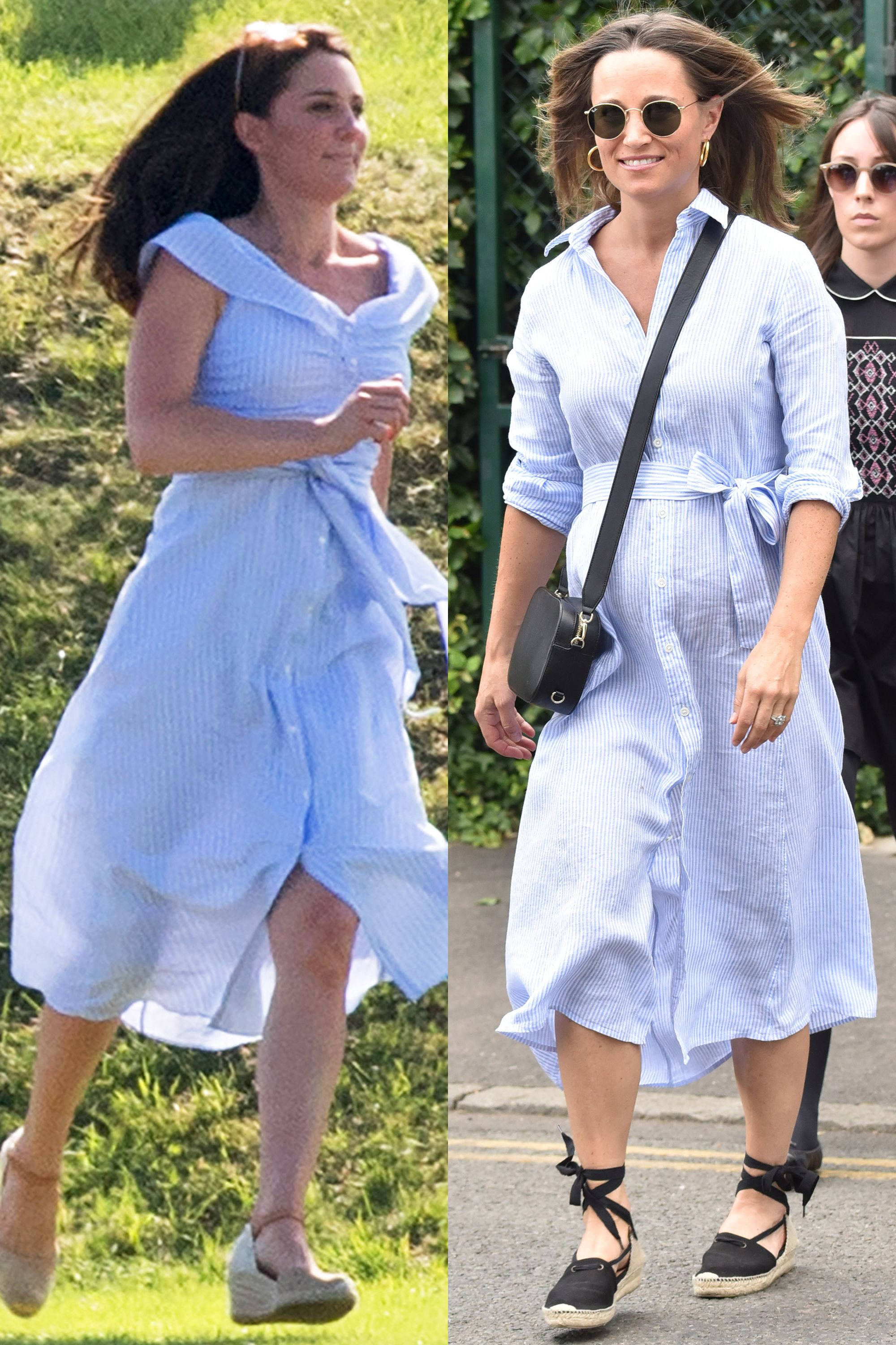 570af68fe25 Pippa Middleton and Kate Middleton Dressing Alike - Pippa Middleton and  Kate Middleton Matching Outfits