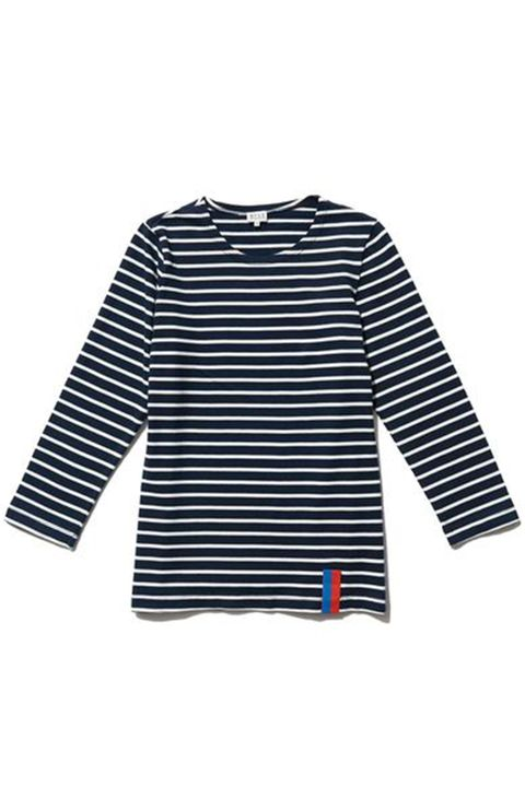 Clothing, Sleeve, Blue, White, Black, T-shirt, Long-sleeved t-shirt, Outerwear, Jersey, Sweater,