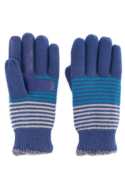 Glove, Wool, Blue, Woolen, Personal protective equipment, Turquoise, Mittens, Fashion accessory, Electric blue, Textile,