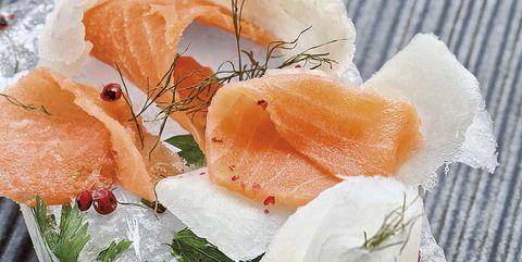 stroganina sushi del ártico ruso