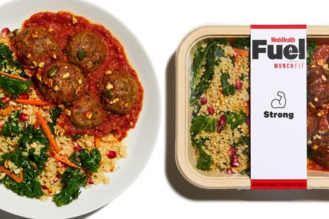 Men's Health Fuel Strong Plan Health Meal Delivery