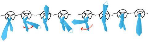 Stropdas strikken: de enkele Windsor