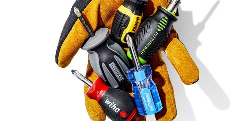 a bunch of screwdrivers