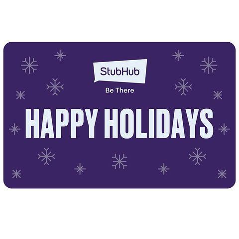 Courtesy StubHub Gift Card