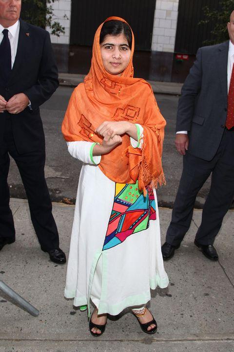 Malala Yousafzai Sighting In New York City - October 8, 2013