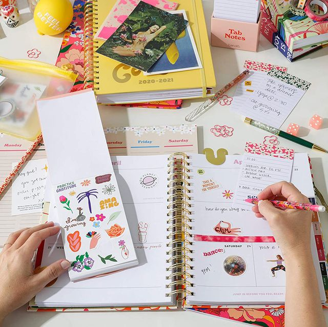 bano student planner with stickers