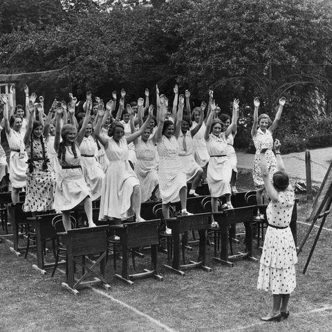 photo of school in 1932