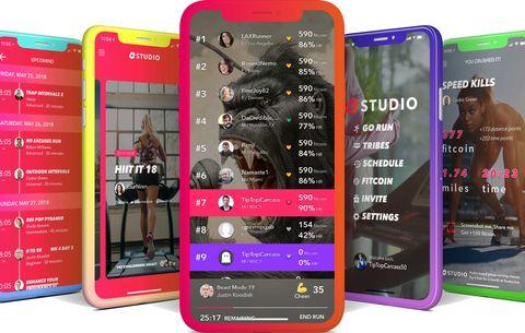 Studio running app