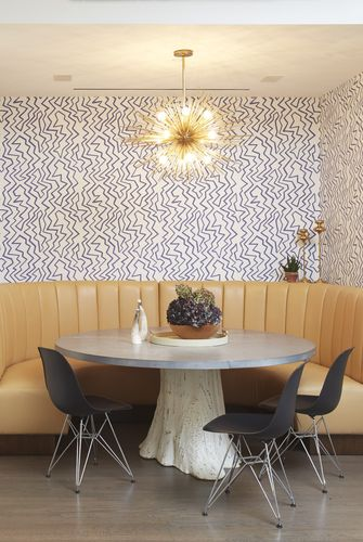 modern dining room wallpaper