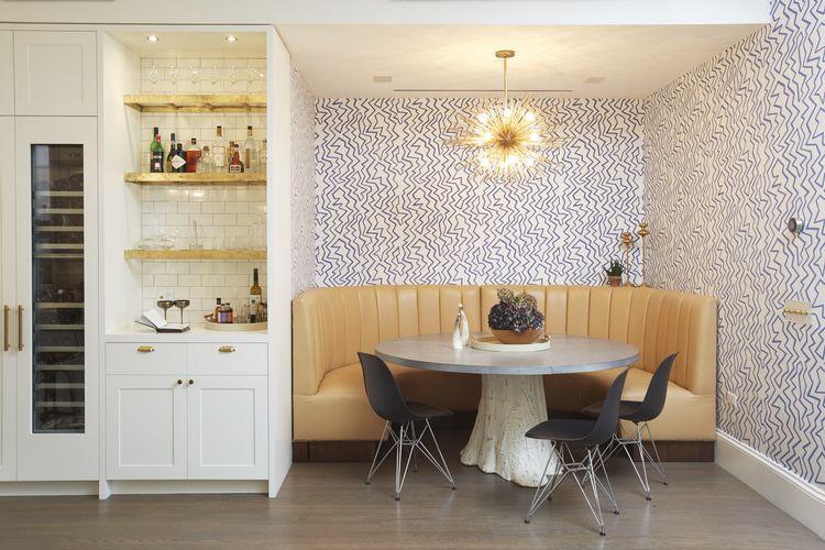 Modern Dining Room Wallpaper