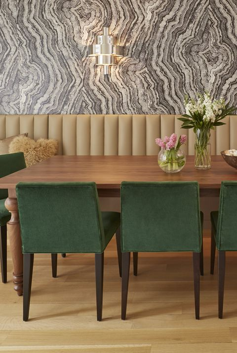 18 Dining Room Wallpaper Ideas That Ll Elevate All Your Dinner Parties