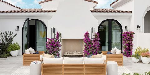 40 Best Patio Ideas for 2019 - Stylish Outdoor Patio Design ... Ideas Colorful Planters For Backyard on backyard urn ideas, backyard patio ideas, cheap retaining wall ideas, backyard rose ideas, diy flower garden design ideas, backyard fence ideas, backyard gift ideas, tropical landscape patio design ideas, backyard outdoor ideas, backyard wood ideas, backyard landscaping ideas, back yard landscaping design ideas, backyard shelf ideas, small backyard ideas, outdoor flower pot decorating ideas, backyard plant ideas, backyard statue ideas, backyard bed ideas, backyard light ideas, backyard flowers ideas,