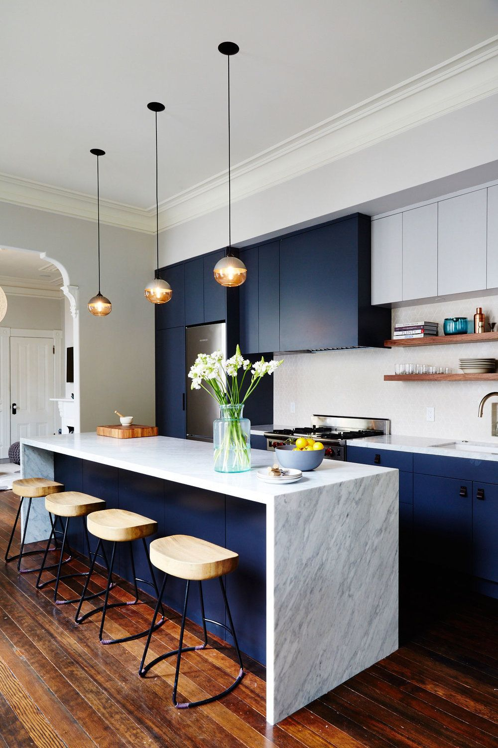 image & 10 Kitchen Cabinet Color Combinations You\u0027ll Actually Want To Commit To
