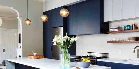 Kitchen Cabinet Colors You Can Totally Mix Match