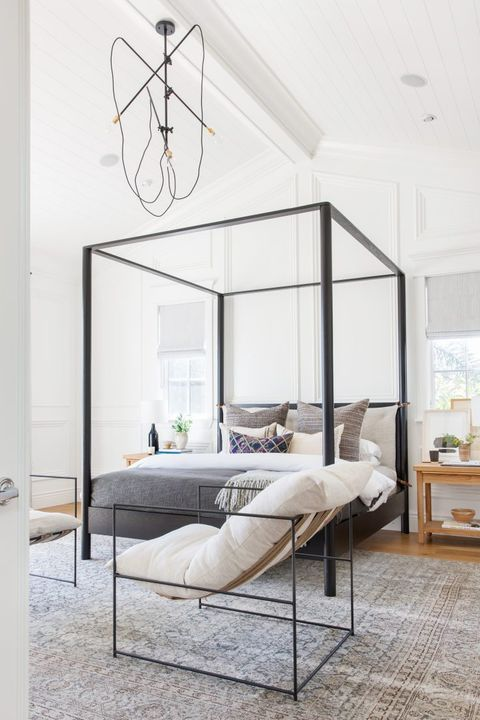 Furniture, Bed, Room, Bedroom, Bed frame, Interior design, Ceiling, Table, Canopy bed, Building,