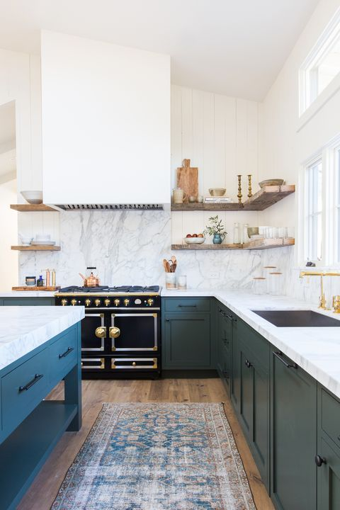 Open Shelving? These 15 Kitchens Might Convince You Otherwise on open shelving bookcase, open shelving pantry, open shelf kitchen cabinets, open shelving kitchen wall,